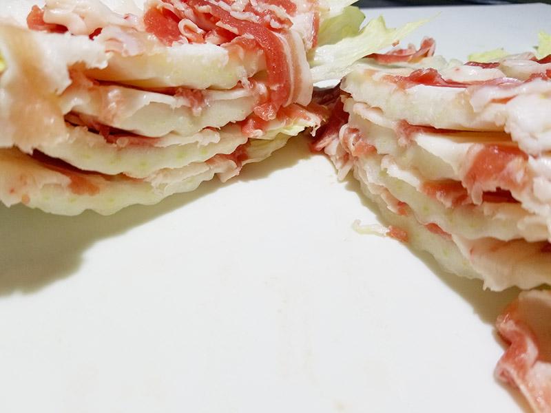 すき焼き豚バラレシピ