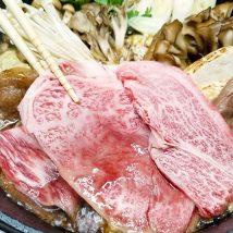 銀座牛すき焼きを食べる1
